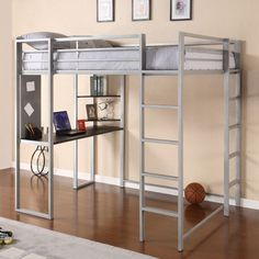 Abode Full Loft Bed - for when you are an adult in a 300 square foot apartment.  No, really.