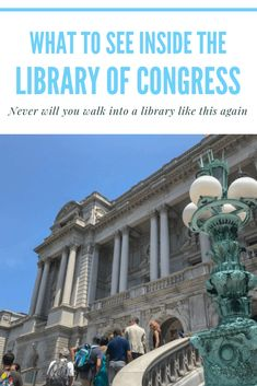 If you are a book worm like myself you have to check out the Library of Congress.  Washington DC | Free | Guttenberg Bible #RoadTripHacks Rockford Peaches, Us Capitol, Library Room, Local Library, Capitol Building, Road Trip Hacks, National Archives, Library Of Congress, Washington Dc
