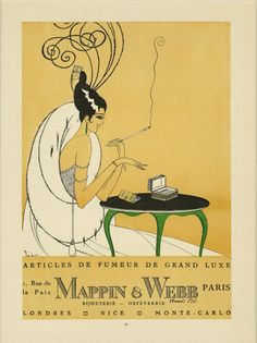 Matted Antique 1920s Fashion Print Gazette