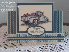 Countryside center step by JJ Rubberduck - Cards and Paper Crafts at Splitcoaststampers SU: Country Side (Retired) Men's Cards, Boy Cards, Stampin Up Cards, Fancy Fold Cards, Folded Cards, Scrapbook Cards, Scrapbooking, Center Step Cards, Working Bee