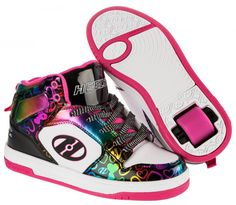 GoSk8 UK - Heelys Flash 2.0 Girls Runner Skate 770421