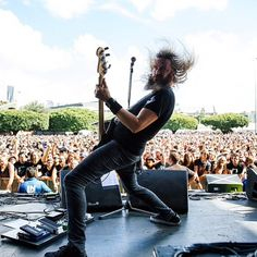 Troy Sanders (Mastodon) here in Brisbane with Killer Be Killed.