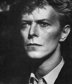 David Bowie, photo by Helmut Newton, 1983
