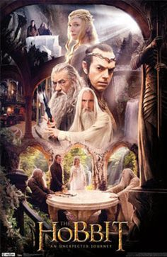 The Hobbit: An Unexpected Journey - Rivendell Group Photo from AllPosters.com