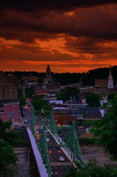 Another Easton, PA sunset.