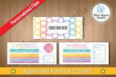 LuLaRoe Gift Certificates in Circles 102 by Blue Aspen Studio