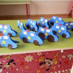 police-office-preschool-and-kindergarten-unit-crafts « funnycrafts Cars Preschool, Preschool Themes, Preschool Crafts, Preschool Activities, Crafts For Kids, Car Crafts, Health Activities, Police Officer Crafts, Police Crafts
