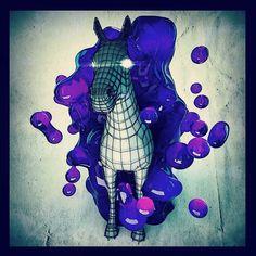 Weird Toony Horse !  #c4d #cinema4d #mdcommunity #motiondesign #elegant #work #progress #3d #artwork #visual #art #model #sculpting #sketch #rsagraphics #zbrush #illustration #photo #photoshop #design #digital #digitalart #graphic #graphicdesign #beauty #octanerender #octaneaddicts #picture #octane by mhsprod