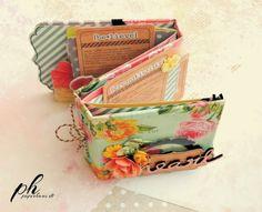 PaperHaus Magazine: A gorgeous mini album tutorial by Bianca....