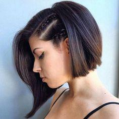 braided bob hairstyle 2017