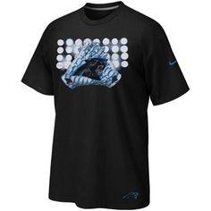 Nike Carolina Panthers Glove Lockup T-Shirt - Black - NFLShop.com Carolina  Panthers 6f9983cea4857