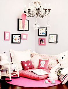 Beautiful Decorating Inspiration for Kids Rooms via @MyDomaine