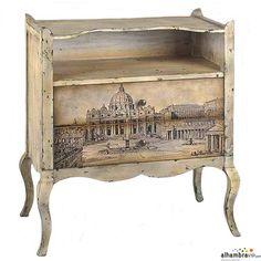 Muebles vintage de Alambra Vip : Nuestra tienda amiga Alhambra Vip estrena una nueva colección de muebles auxiliares de estilo vintage. Aquí describimos las encantadoras piezas: Mesita de