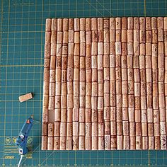 Hot glue your wine cork collection onto non-slip shelf liner to make a custom bath mat. | 17 Gorgeous Bathroom Upgrades That Only Look Expensive