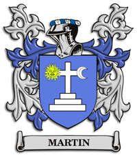 Martin family crest Ireland