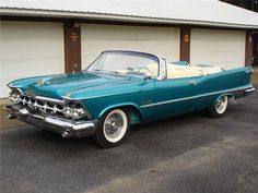 This stunning 1959 Imperial convertible has gone through a total frame-up restoration and as you can see a very high dollar one, and was a very good car to s...