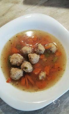 Netradiční a chutná vložka do polévky. Recept na knedlíčky ze strouhanky. Meat, Chicken, Recipes, Food, Essen, Meals, Ripped Recipes, Yemek, Eten