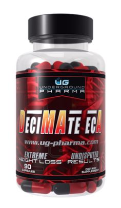 Decimate ECA by UG Pharma 90 Capsules for sale online Lose Thigh Fat, Lose Fat, Lose Weight At Home, How To Lose Weight Fast, Sport Diet, Slim Diet, Organic Herbs, Mindful Eating, Fat Burning Foods