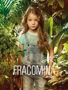 Romantic allure and blooming atmosphere on ALALOSHA featuring a FRACOMINA MINI adorable dresses. When you look at it you feel calmness and peacefulness! Dungarees Shorts, Summer Campaign, Jumper Dress, Ss 15, Spring Summer 2015, Cool Kids, Cute Dresses, Cute Girls, Personal Style
