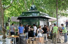 Av. da Liberdade, Lisboa Fun Art, Cool Art, Portugal, Kiosk, Gazebo, Shops, Outdoor Structures, City, Interior