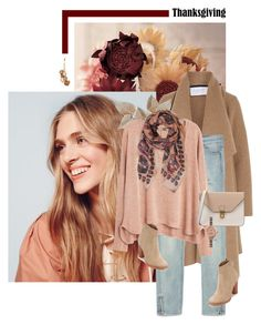 """""""Thankful (Please Read)"""" by chebear ❤ liked on Polyvore featuring Harris Wharf London, Zara, MANGO, Humble Chic, Joie, 8, Shinola, Napier and thanksgiving"""