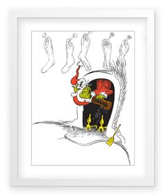 The Art of Dr. Seuss The Grinch Art Print