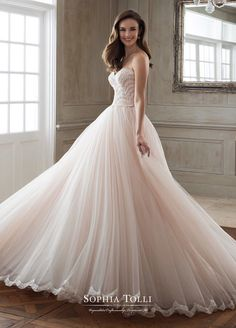 Courtesy of Sophia Tolli Wedding Dresses
