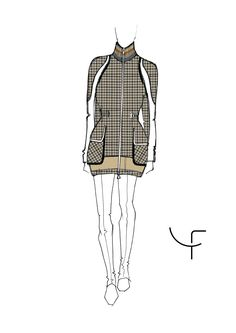 Dany Fay Golf Couture | Sketches Collection SS17 - Part I  #danyfay #sketches #fashiondesign #collectionss17 #ss17 #Gofhose #Golfmode #Golfjacke #Golfkleider #Golfbekleidung #dame #golfer #schweiz #Switzerland #Zurich #Germany #madeinItaly #zurichsee #golfetiquette #golfstyle #jaanteshowroom #golfcouture #designerclothing #modafeminina #golf