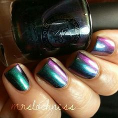 Pretty multi-colored Nails. :-D ♥