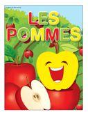 Programmation sur le thème des pommes avec des activités éducatives; jeux, bricolages, coloriages, histoires, comptines, chansons, fiches d'activités imprimables