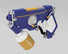 Overwatch, Tracer Cosplay, Wig Hairstyles, Graffiti, Guns, Design Ideas, Science, Weapons Guns, Revolvers
