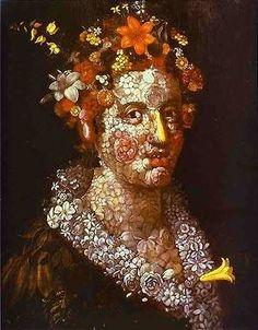 Giuseppe Arcimboldo - Flora