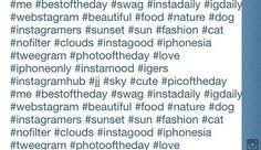 Del uso al abuso de los hashtags en Instagram (en @Mis Apis Por Tus Cookies)