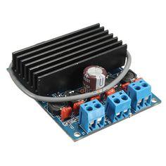 2 x 50W TDA7492 D Class High-Power Digital Amplifier Board AMP Board+ Radiator #UnbrandedGeneric