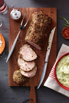 50 Easter Dinner Ideas - Easter Recipes-PEPPERY PORK CHOPS If you prefer spicy over sweet, this peppercorn-crusted pork gives plenty of heat. Turn up the heat this Easter holiday with this spicy recipe at redbookmag.com.