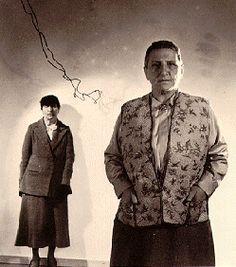 The Bones of Paris: women of 1929.  Gertrude Stein and Alice B. Toklas, of course.