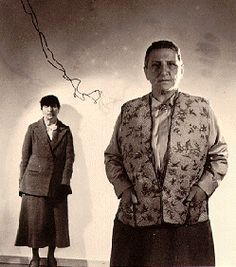 The Bones of Paris: women of 1929.  Gertrude Stein and Alice B. Toklas, of course.