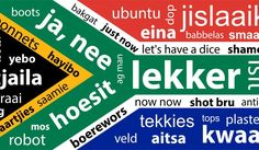 may not be aware of this, but not everyone in the world speaks South African. And in honour of South African lingo, we've put together a list of slang words. Heritage Day South Africa, Africa Quotes, South African Flag, South Afrika, African Theme, Out Of Africa, African Culture, African History, Words