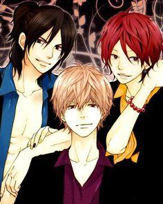 Ookami Shoujo to Kuro Ouji (Wolf Girl & Black Prince) - Takeru, Kyouya, Kamiya
