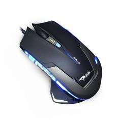 E-3lue Mazer Type-R 2500DPI USB Wired Optical Game Gaming Mouse (Black-Gray Model EMS140) Cool Computer Mouse, Pc Parts, Pc Mouse, Edc Everyday Carry, Black And Grey, Gray, Geek Stuff, Usb, Wire