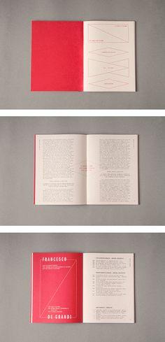 La scuola di Palermo - Exhibition Catalogue on Editorial Design Served
