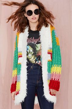 UNIF Hendrix Cardigan | Shop Sweaters at Nasty Gal