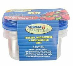"""Food Container 3 Piece - Case Pack 48 SKU-PAS364455 by DDI. $48.02. Please refer to the title for the exact description of the item. Allof theproductsshowcased throughoutare100%OriginalBrand Names.. 100% SATISFACTION GUARANTEED. Food Container 3 Piece. Each container is 2"""""""" deep x 2-3/4"""""""" wide x 4-1/2 long. Holds one liquid cup."""" Case Pack 48 Please note: If there is a color/size/type option, the option closest to the image will be shipped (Or you ..."""