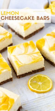 Recipes Snacks Salty Nothing screams spring like lemon desserts, and this recipe for Lemon Cheesecake Bars uses lemon curd to give each decadent bite just the right amount of tang. Perfect dessert for brunches, showers or graduations! Spring Desserts, Lemon Desserts, Lemon Curd Dessert, Apple Desserts, Desserts Printemps, Lemon Cheesecake Bars, Cheesecake Desserts, Lemon Brownies, Lemon Bars