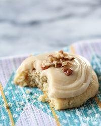 Brown Sugar Pecan Cookies   inspiredbycharm.com #IBCfallcookieweek