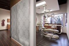 Modern Dental Office by Angela Enroth, via Behance