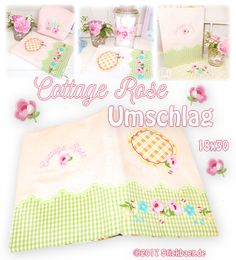 Cottage Rose Umschla