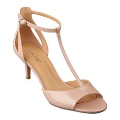 Gaget t-strap sandals Strappy Shoes, T Strap Sandals, Ankle Strap Heels, Cute Shoes, Me Too Shoes, Women's Shoes, Bridesmaid Shoes, Prom Heels, Comfortable Heels