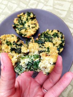 healthy & addicting: spicy quinoa & kale muffins