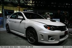 Want a new STI sooo bad and in this amazing color! But since I can't afford one at the moment....I'm gonna paint my RSX this color- White Satin Pearl :D